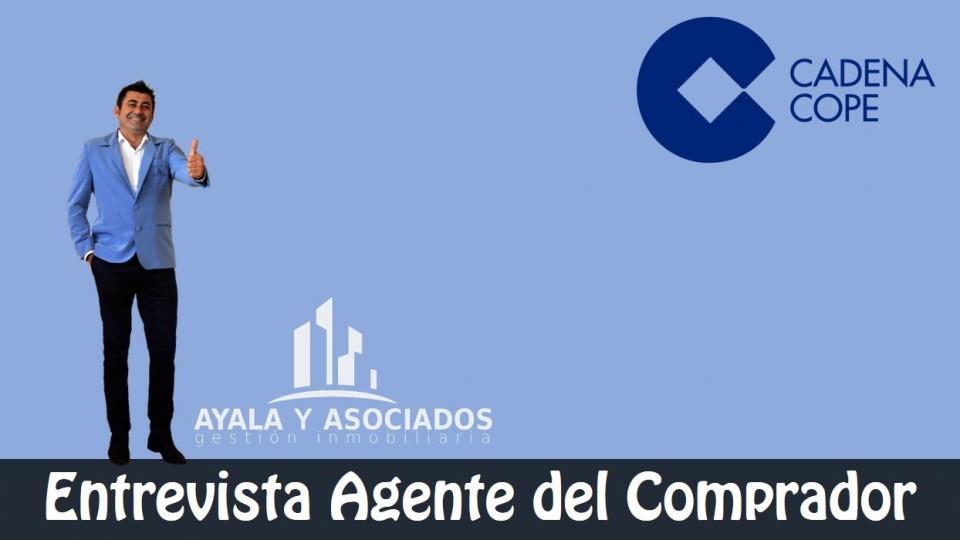 Inmobiliaria Ayala y asociados visita la Radio Cope Cartagena